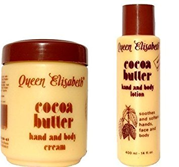 Queen Elizabeth Cocoa Butter Hand Body Cream - Queen Elizabeth Cocoa Butter Hand & Body Cream