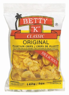 betty k plantain - Bettey K Spicy Caribbean Chips