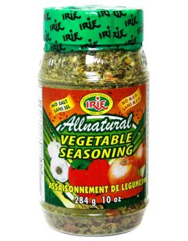 irie all natural vegetable seasoning 270x345 - Irie All Natural Vegetable Seasoning
