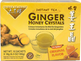 Prince of Peace Ginger Honey Crystals - Prince of Peace-Ginger Honey Crystals