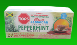 Tops Jamaican Peppermint Tea - Tops Jamaican Peppermint Tea